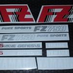 FZ750外装リペイント用デカールセット-1