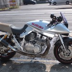 1.GSX1100S_DSCF1300(GSX1100S小池号1984年 検無し 1100cc シルバー 47307Km)